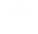 RISTORANTE Open Daily 5:30 pm for dinner Monday closed Reservations ☎ 403.263.6996